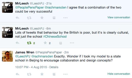 Chinese School BBC2 Twitter 24