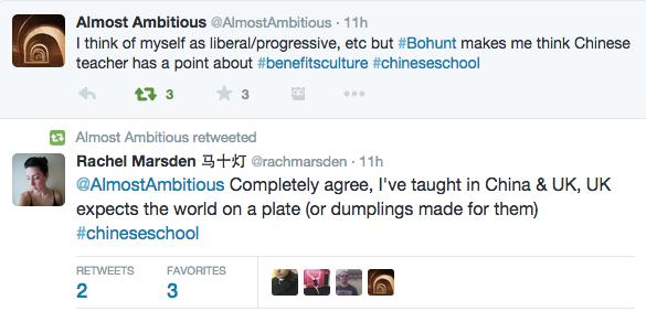 Chinese School BBC2 Twitter 28