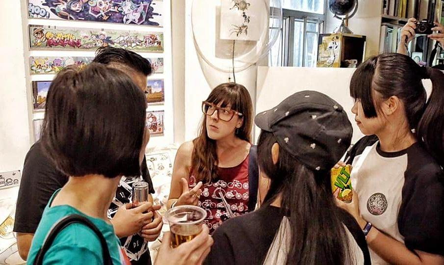 Yo Girls Graffiti Exhibition by CGG Crew (China Graffiti Girls) 1