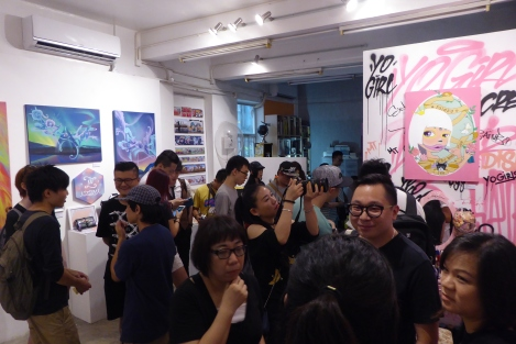 Yo Girls Graffiti Exhibition by CGG Crew (China Graffiti Girls) 3