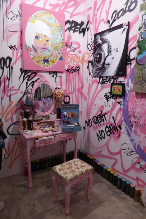 Yo Girls Graffiti Exhibition by CGG Crew (China Graffiti Girls) 4