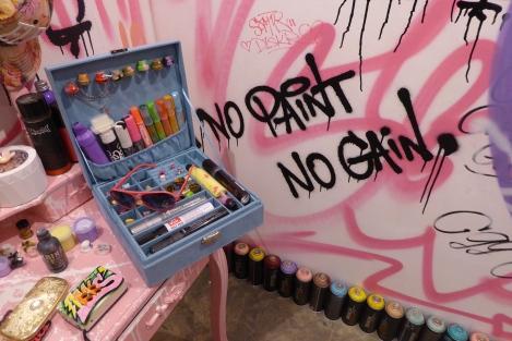 Yo Girls Graffiti Exhibition by CGG Crew (China Graffiti Girls) 5