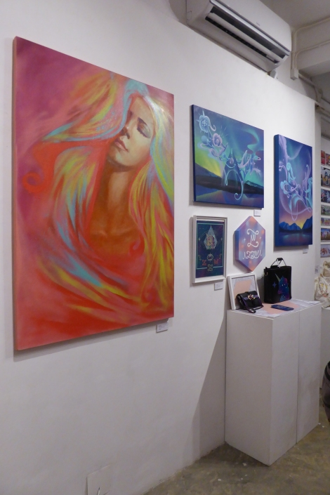 Yo Girls Graffiti Exhibition by CGG Crew (China Graffiti Girls) 8
