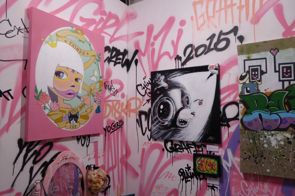 Yo Girls Graffiti Exhibition by CGG Crew (China Graffiti Girls) 9