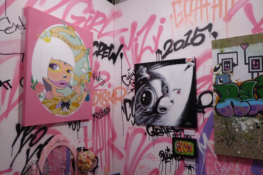 Yo Girls Graffiti Exhibition by CGG Crew (China Graffiti Girls) 9