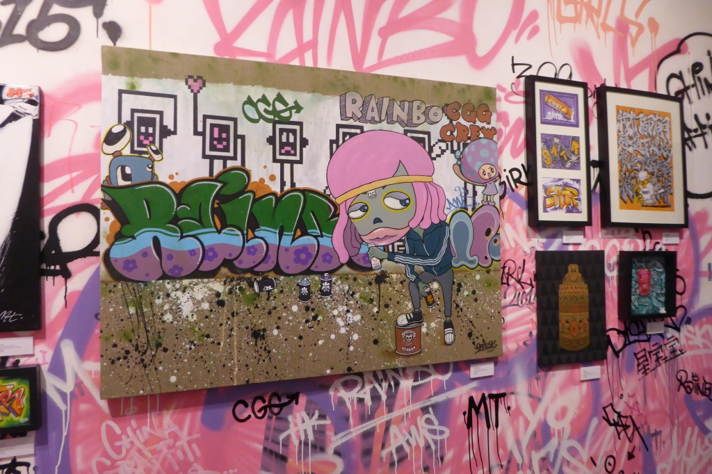 Yo Girls Graffiti Exhibition by CGG Crew (China Graffiti Girls) 13