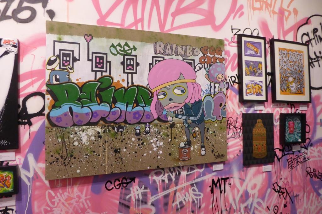 Yo Girls Graffiti Exhibition by CGG Crew (China Graffiti Girls) 13