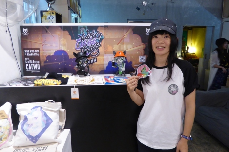 Yo Girls Graffiti Exhibition by CGG Crew (China Graffiti Girls) 15