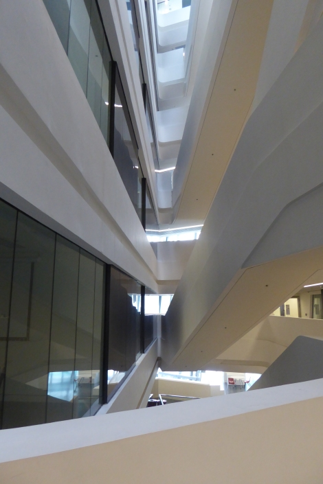 Zaha Hadid Jockey Club Innovation Tower 7