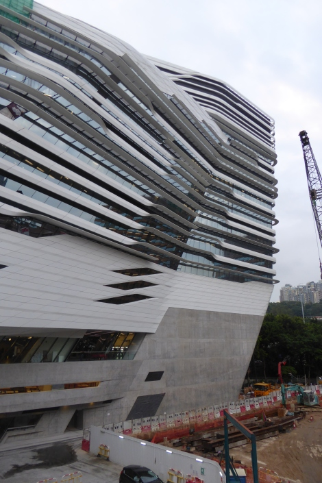 Zaha Hadid Jockey Club Innovation Tower 1