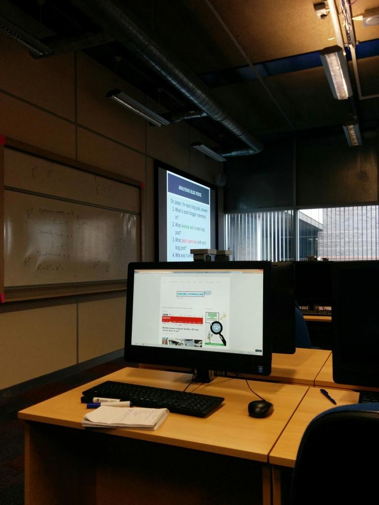 Introduction to blogging BCU