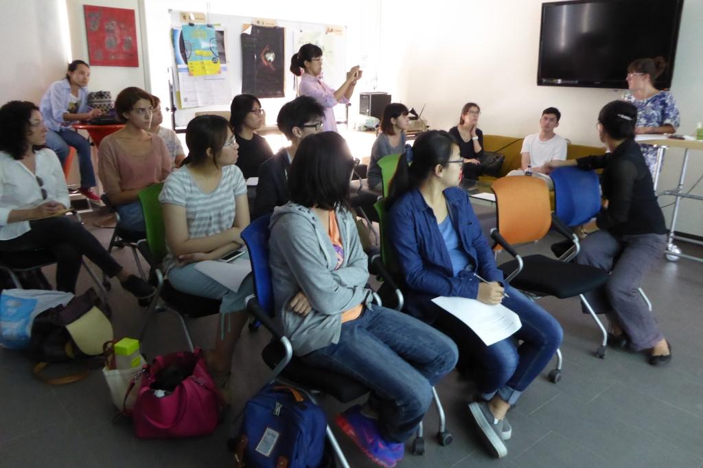 Teaching at NCKU Tainan 25