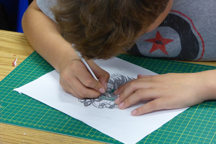 RSC Papercutting workshop 1
