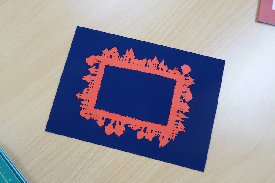 RSC Papercutting workshop 10