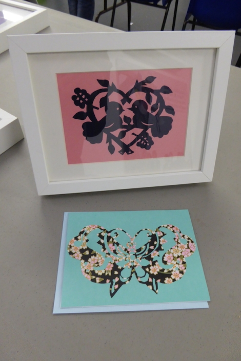 RSC Papercutting workshop 14
