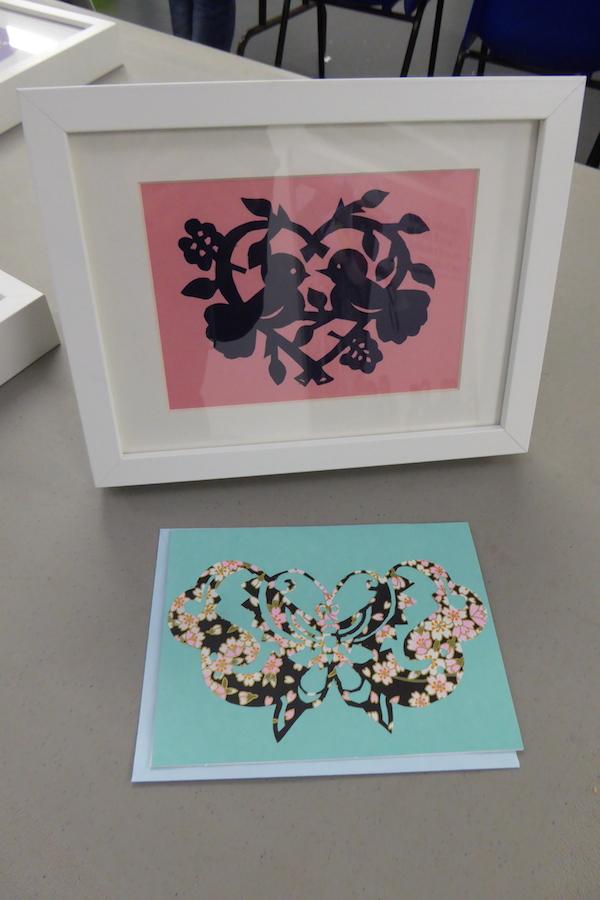 RSC Papercutting workshop 14