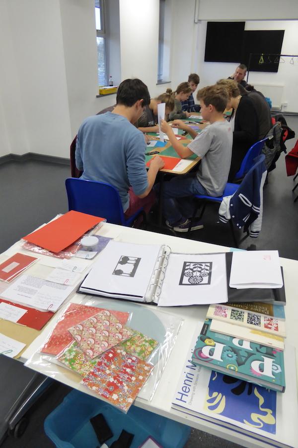 RSC Papercutting workshop 3