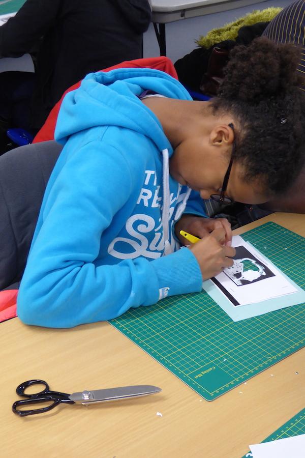 RSC Papercutting workshop 4