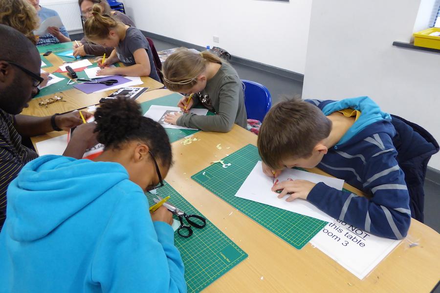RSC Papercutting workshop 5