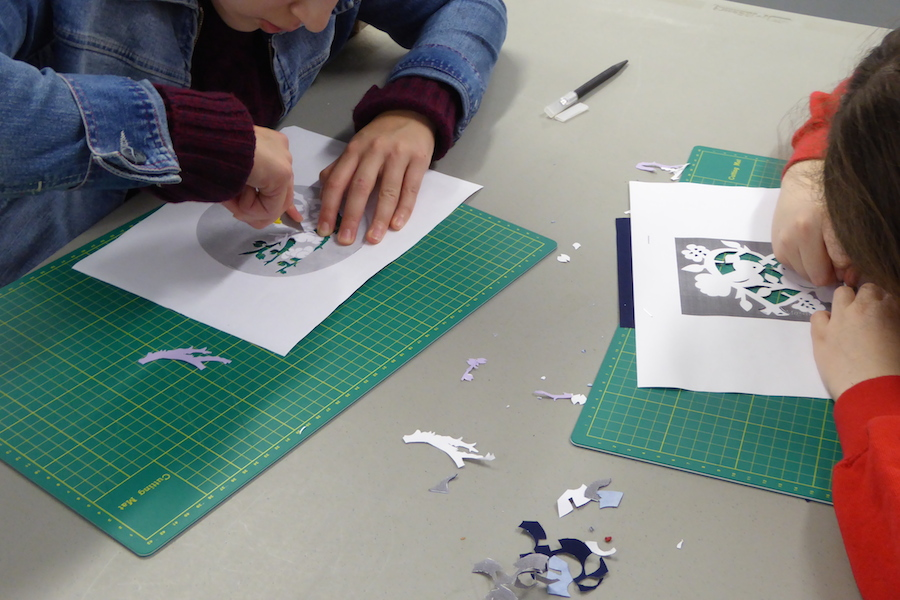 RSC Papercutting workshop 6