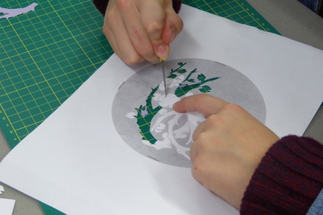 RSC Papercutting workshop 7