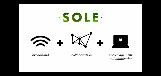 Build a School in the Cloud Sugata Mitra TED talk 4 SOLE self-organised learning environment