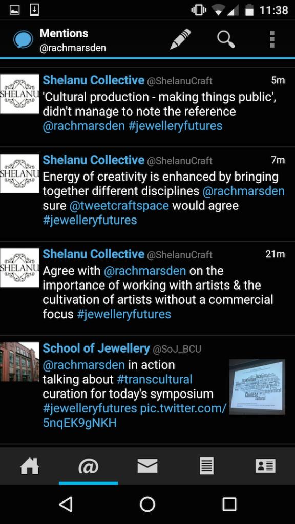 Jewellery Futures workshop BCU 40
