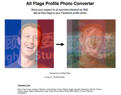 All Flags Profile Photo Converter http://allflags.world