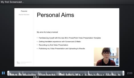Screencast 2 TELT Session 3