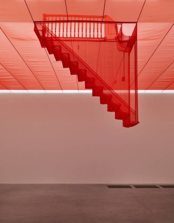 Staircase-III 2010 Do Ho Suh born 1962 Purchased with funds provided by the Asia Pacific Acquisitions Committee 2011 © Do Ho Suh, courtesy Lehmann Maupin Gallery, New York