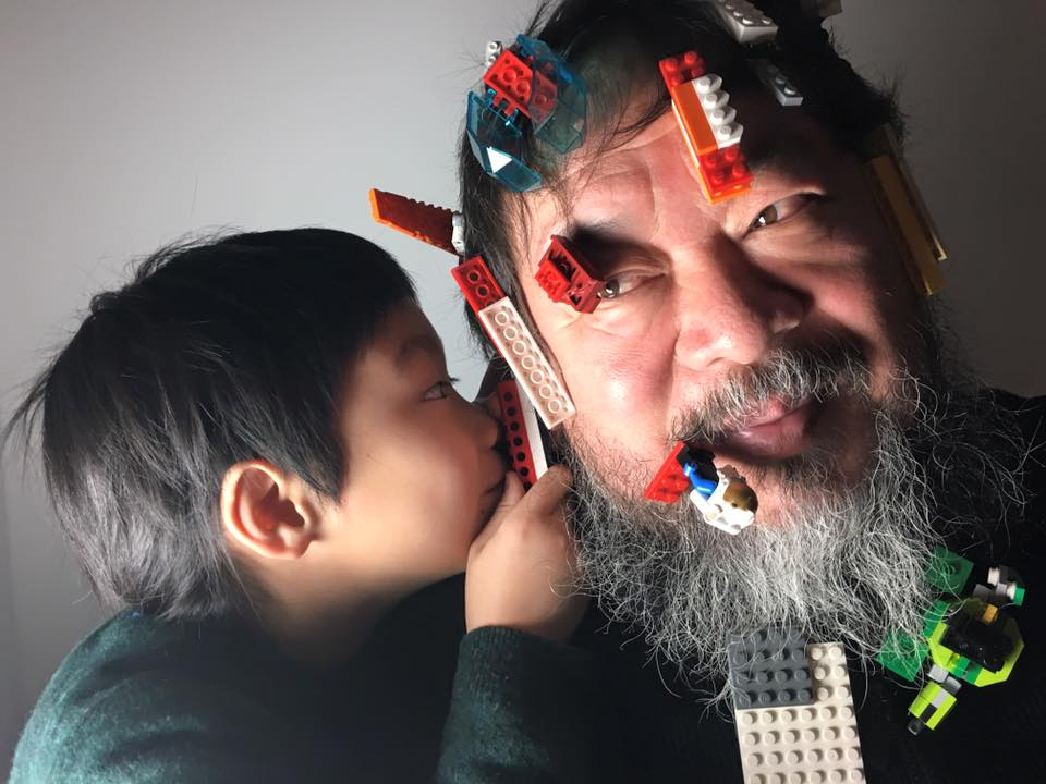 Ai Weiwei lego 13 January 2016