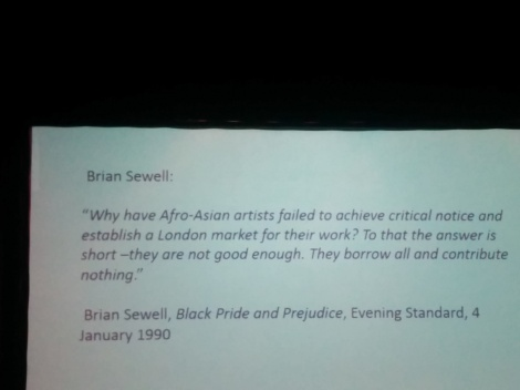 Brian Sewell quotation - The Other Story