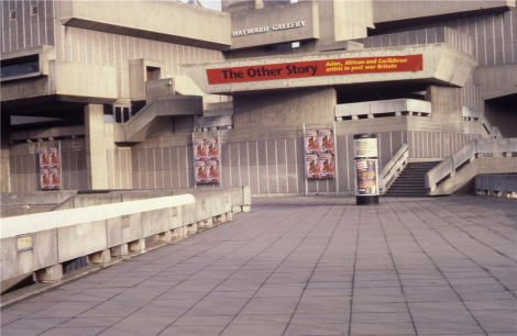 'The Other Story: Afro-Asian Artists in Post-war Britain', Hayward Gallery, London, 29 November 1989 - 04 February 1990. Image from AAA, Hong Kong.
