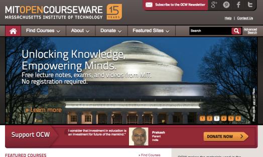 TELT OEP MIT OpenCourseWare 2