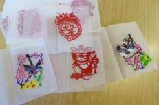Attenborough Arts Centre Leicester papercutting workshop 1