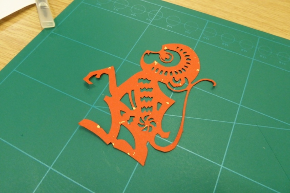 Attenborough Arts Centre Leicester papercutting workshop 10