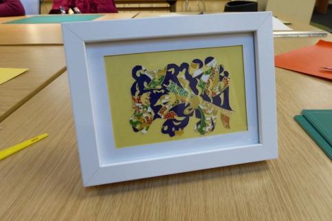 Attenborough Arts Centre Leicester papercutting workshop 11