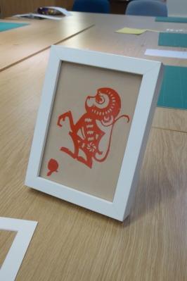 Attenborough Arts Centre Leicester papercutting workshop 12