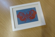 Attenborough Arts Centre Leicester papercutting workshop 14