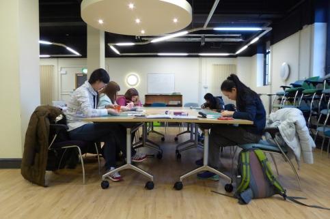Attenborough Arts Centre Leicester papercutting workshop 8