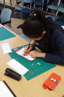 Attenborough Arts Centre Leicester papercutting workshop 9