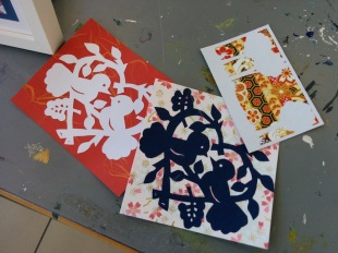 Attenborough Arts Centre Papercutting 2
