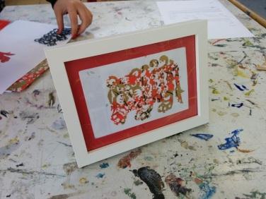 Attenborough Arts Centre Papercutting 3
