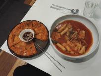 Korean kimchi din dins