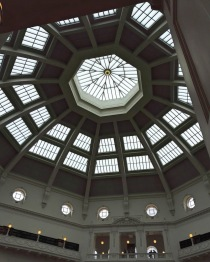 Melbourne State Library dome