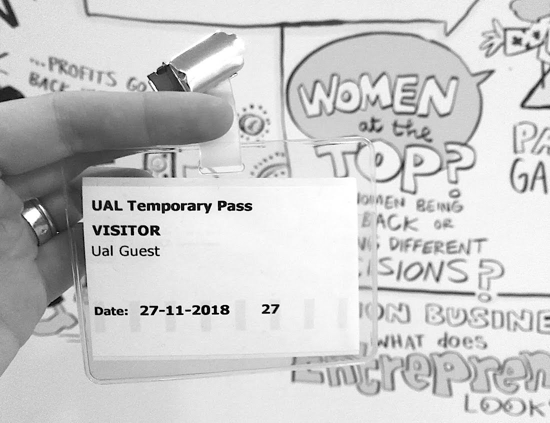 UAL temporary pass for interview